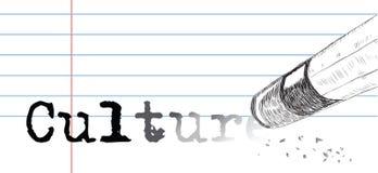 Kreativ auf einem Thema der Kultur lizenzfreie abbildung