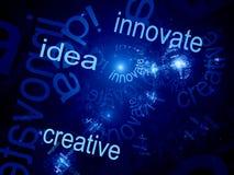 Kreativ erneuern Idee stock abbildung