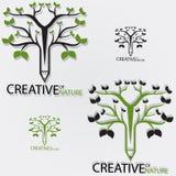 Kreativ von der Natur stock abbildung