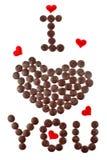 Kreative Auffassung für Valentinsgruß \ 's-Tag stockbilder