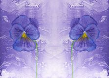 Kreative Beschaffenheit für Design Vibrierender handgemalter Aquarellhintergrund Handgemachte Überlagerung Dekoratives buntes str stock abbildung