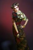 Kreative Dame. Lizenzfreies Stockfoto
