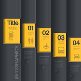 Kreative Entwurfsschablone. Infographics-Geschäftsst. lizenzfreie abbildung