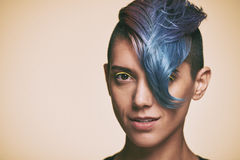 Kreative Frisur Stockfotos
