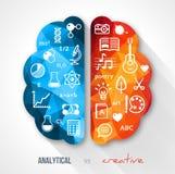 Kreative Gehirn Idee Stockfotos