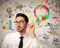 Kreative Geschäftsidee Stockbilder