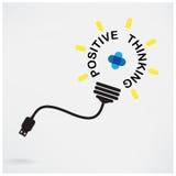 Kreative Glühlampeidee, Geschäftsidee, abstraktes Symbol, positiv Stockbild