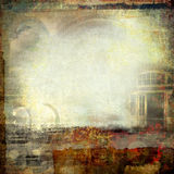 Kreative grunge Collage Stockfotos