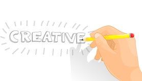 Kreative Hand stockbild