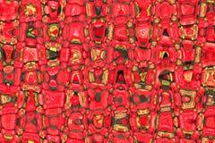 Kreative helle abstrakte rote Beschaffenheit Stockbild