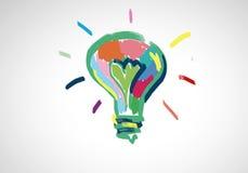 Kreative Ideen Stockfoto