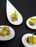 Kreative Küche: Herzmuscheln Stockfotografie