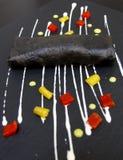 Kreative Küche: Krepps Lizenzfreies Stockfoto