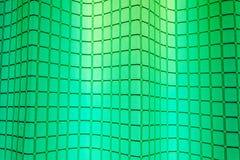 Kreative klassische grüne quadratische Zusammenfassung für Hintergrund Lizenzfreie Stockfotografie