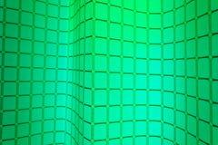Kreative klassische grüne quadratische Zusammenfassung für Hintergrund vektor abbildung
