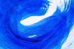 Kreative Kunsthintergrundhand gezeichnete Acrylmalerei Nahaufnahme sho Lizenzfreie Stockfotos