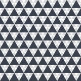 Kreative Muster Schwarzdreiecke auf Weiß Stockfotografie