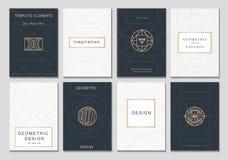 Kreative nette Kartenschablone Lizenzfreie Stockbilder