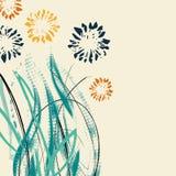 Kreative Universalblumenkarte Hand gezeichnete Beschaffenheiten Hochzeit, Jahrestag, Geburtstag, Valentin-` s Tag, Parteieinladun lizenzfreie abbildung