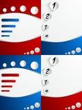 Kreativer abstrakter Abdeckungs-Hintergrund Lizenzfreie Stockfotografie