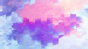 Kreativer abstrakter handgemalter Hintergrund Malende Acrylanschläge auf Segeltuch Moderne Kunst stock abbildung