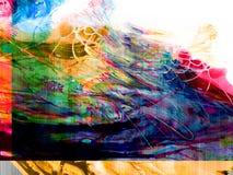 Kreativer abstrakter handgemalter Hintergrund, Tapete, Beschaffenheit, c lizenzfreie abbildung