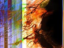 Kreativer abstrakter handgemalter Hintergrund, Tapete, Beschaffenheit, c vektor abbildung