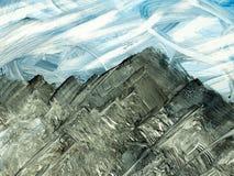 Kreativer abstrakter handgemalter Hintergrund, Tapete, Beschaffenheit, c stock abbildung