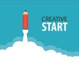 Kreativer Anfang Stockfotografie
