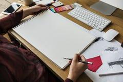 Kreativer Design-Kleidermodetrend-stilvolles Konzept Lizenzfreies Stockbild