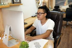 Kreativer Designer lizenzfreies stockbild