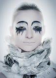 Kreativer Gesichtslack Lizenzfreies Stockfoto