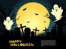 Kreativer Halloween-Hintergrund Stockfoto