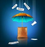 Kreativer Hintergrund des Vektors für Geschäft Lizenzfreie Stockfotografie