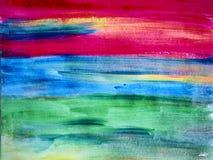 Kreativer Hintergrund Schöne Malerei Abstrakte Beschaffenheit Aquar lizenzfreie stockbilder
