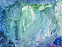 Kreativer Hintergrund Schöne Malerei Abstrakte Beschaffenheit Aquar lizenzfreie abbildung