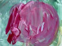 Kreativer Hintergrund Schöne Malerei Abstrakte Beschaffenheit Aquar vektor abbildung