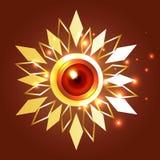 Kreativer Hintergrund von diwali lizenzfreie abbildung