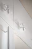 Kreativer Kabinettgriffdachboden Geschweißte Stahlverstärkung in Lizenzfreies Stockfoto