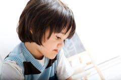 Kreativer Kleinkind-Junge Lizenzfreie Stockbilder