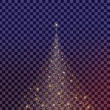 Kreativer Konzept Vektorsatz Lichteffektsterne des Glühens birst mit den lokalisierten Scheinen Stockfotografie