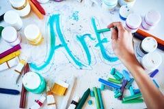 Kreativer Kunsthintergrund Lizenzfreies Stockfoto