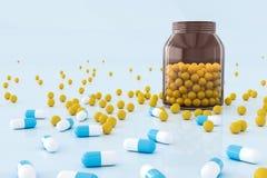 Kreativer Medizinhintergrund stock abbildung
