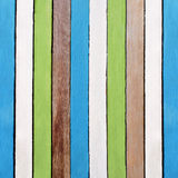 Kreativer Retro- hölzerner Farbenbeschaffenheitshintergrund Stockbild