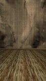 Kreativer Retro- strukturierter Raum Stockfoto