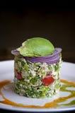Kreativer Salat Lizenzfreies Stockbild