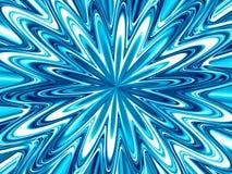 Kreativer schöner fantastischer blauer Hintergrund Lizenzfreie Stockfotografie