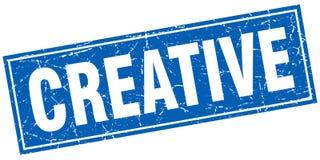 Kreativer Stempel stock abbildung