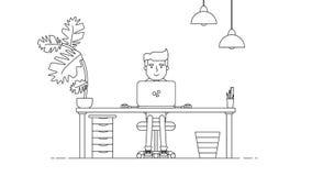 Kreativer Technologie-Arbeitsplatz Lizenzfreie Stockfotos