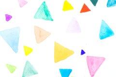 Kreativer vibrierender Schmutzaquarell-Zusammenfassungshintergrund Stockbild